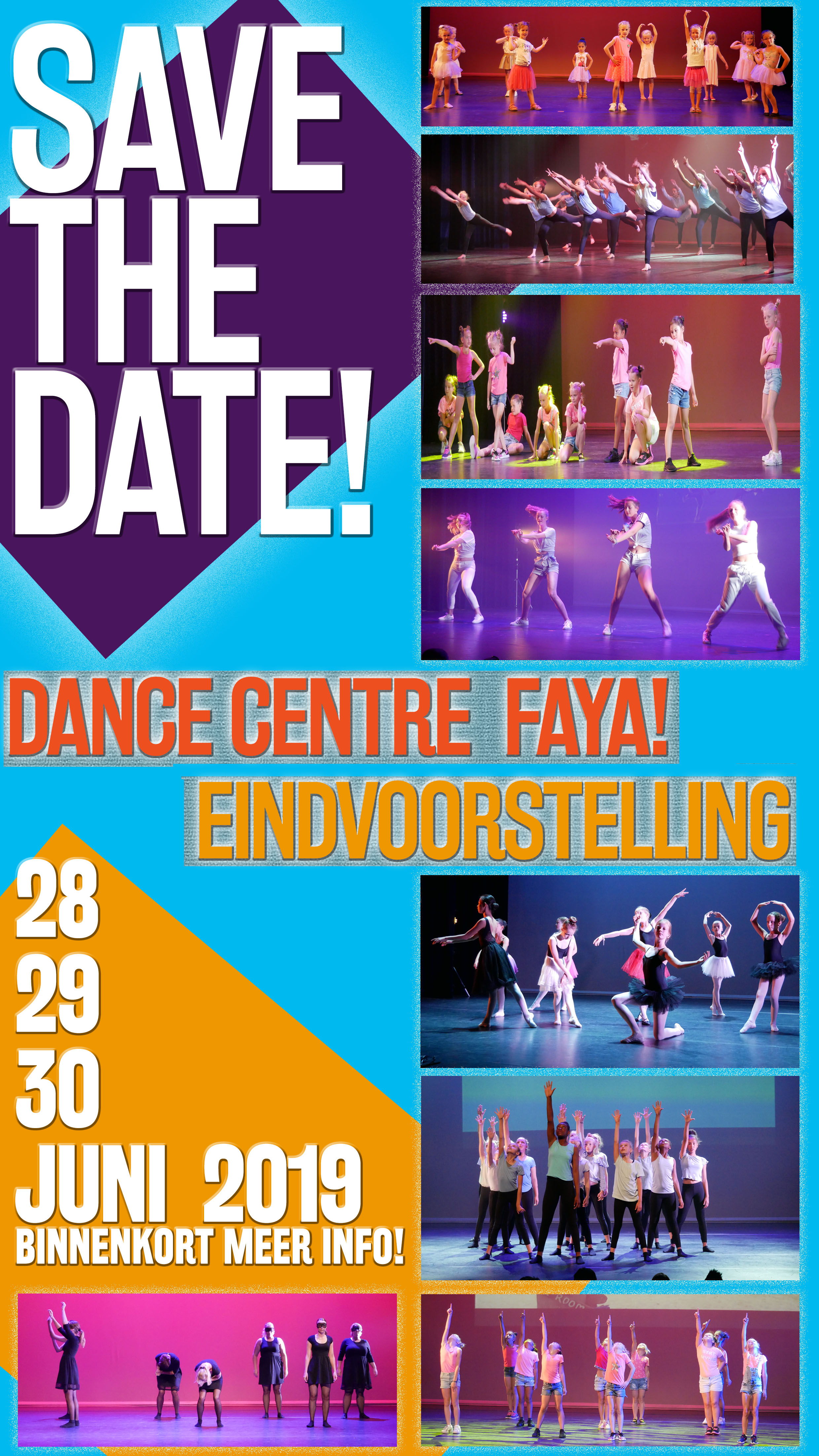SAVE THE DATE EINDVOORSTELLING 2019 kl